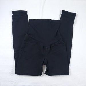 1833 Denim Black Skinny Maternity Jeans M (A7)